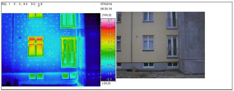 Termograferinger - kontrol af udvendig facadeisolering