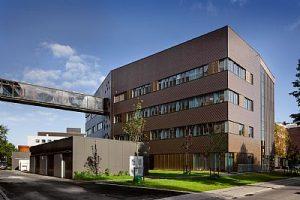 Pharma Science Building - Nørrebro i København - Laboratorier - blower door - tæthedsprøvning - tæthedstest