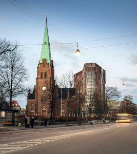 Mærsk Tårnet - Københavns Universitet - blower door - tæthedsprøvning - tæthedstest