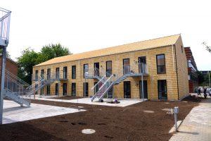 Linde Alle 3, 2850 Nærum - Kollegieværelser - modulbyggeri - blower door - tæthedsprøvning - tæthedstest